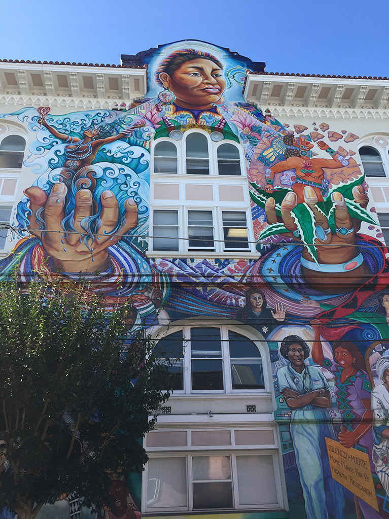Street Art in the Mission District