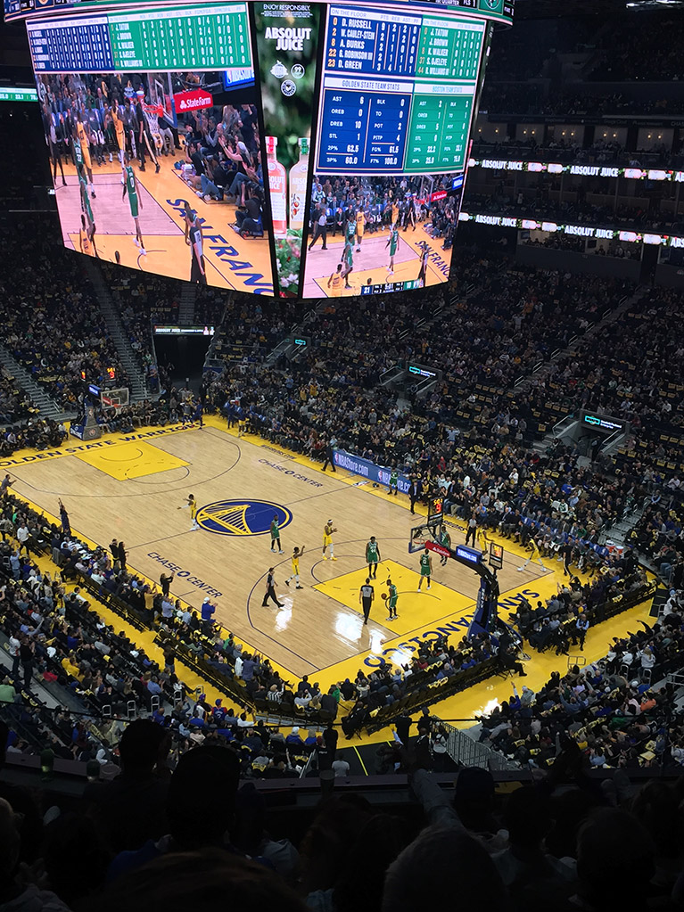 GSW Warriors vs Boston Celtics
